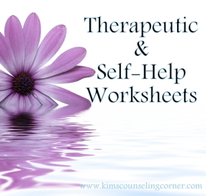Therapy and Self Help Worksheets