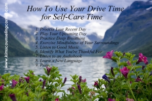 How To Use Your Drive Time for Self-Care Time